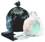 40 - 45 Gallon Trash Bags, High Density, 16 Microns, 40