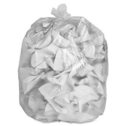 Special Buy High-Density Resin Trash Bags
