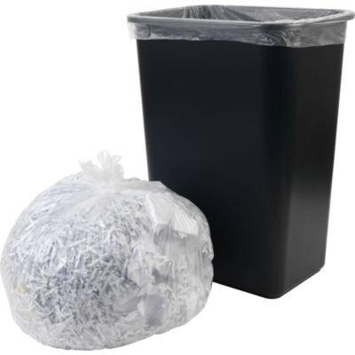 Brighton Professional High Density X-Heavy Strength Trash Bags, Clear, 40-45 Gallon, 250 Bags/Box
