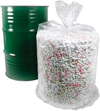 55 Gallon Round Bottom Poly Drum Liners, 37